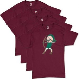 Maroon Archer T-Shirt