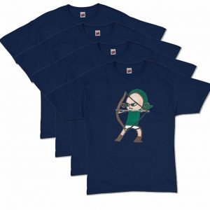 Navy Blue Archer T-Shirt