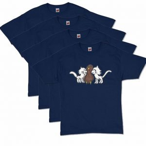 Navy Blue CatTurkey T-Shirt