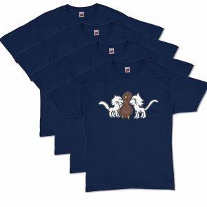 Navy Blue CatTurkey T-Shirt
