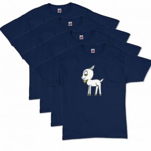 Navy Blue Goat T-Shirt