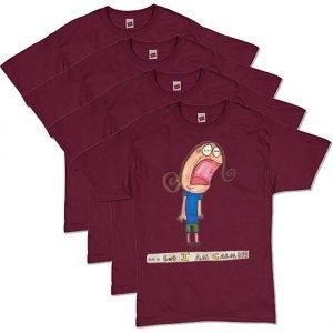 Maroon Calm T-Shirt