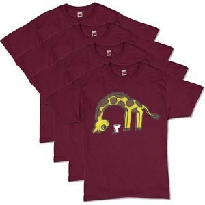 Maroon Coexist T-Shirt