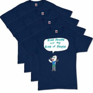 Navy Blue Kind T-Shirt