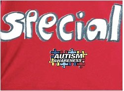 Red Rudolph Autism Awareness Women's