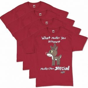 Red Rudolph Autism Awareness Men's